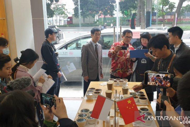 Sebelas UMKM Indonesia jajal ketatnya persaingan pasar kopi di China