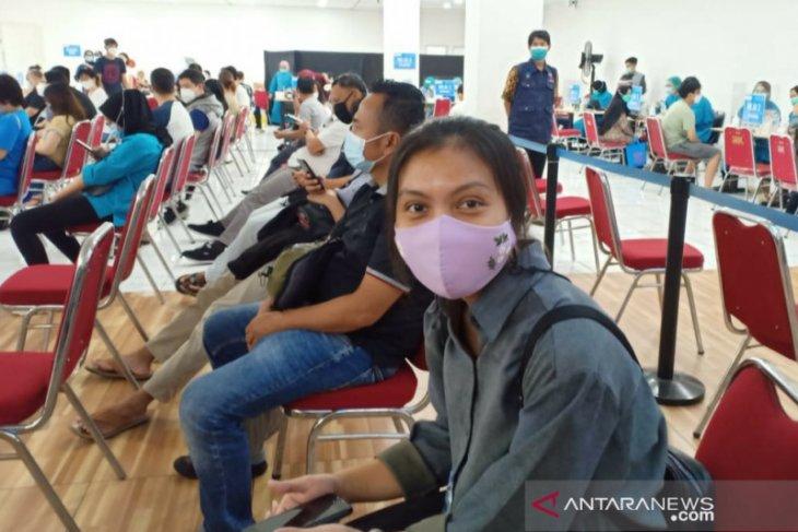 Dinkes selesaikan vaksinasi 2.227 orang di Mal BTM Kota Bogor