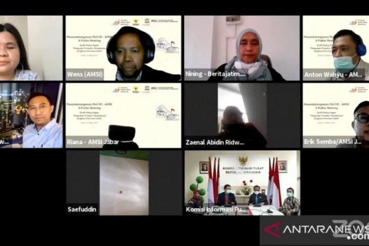 AMSI Jalin kerja sama dengan Komisi Informasi Pusat