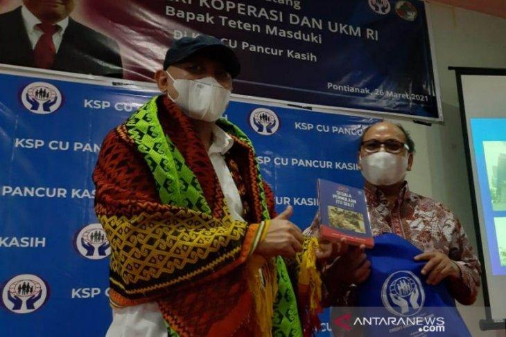 Menteri Koperasi UKM apresiasi pengelolaan CU Pancur Kasih