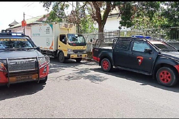 250 vial vaksin AstraZeneca tiba di Jambi, dialokasikan untuk anggota TNI-Polri