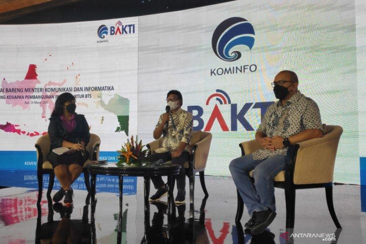 Kominfo komitmen lanjutkan pembangunan infrastruktur di wilayah 3T