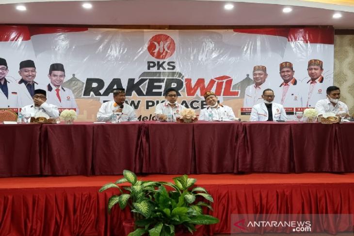 Rakerwil PKS Aceh rumuskan strategi pemenangan
