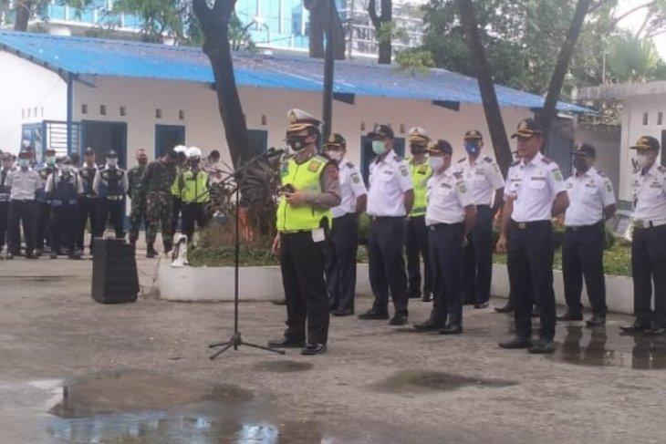 230 personel disiapkan untuk mengamankan peresmian kawasan kuliner di Medan