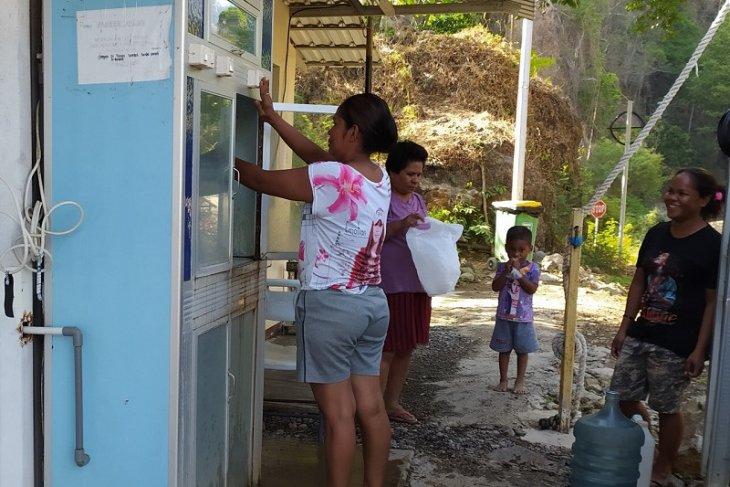 Masyarakat lingkar PT. BKP - BTR di Pulau Wetar dapatkan layanan air layak minum
