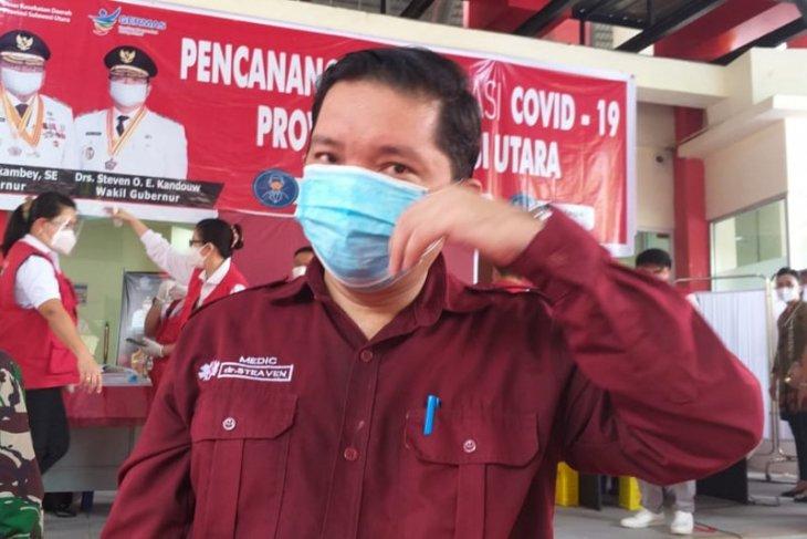 Vaksinasi AstraZeneca di Sulut dihentikan sementara