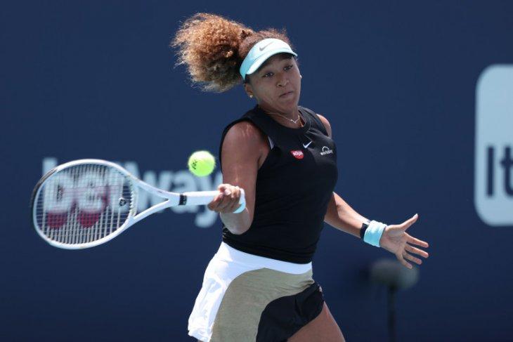 Tenis - Naomi Osaka lolos dari hambatan babak kedua Miami Open