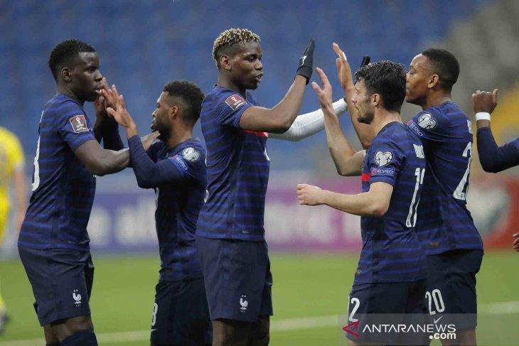 Prancis hadapi Wales dan Bulgaria di laga pemanasan jelang Euro 2020