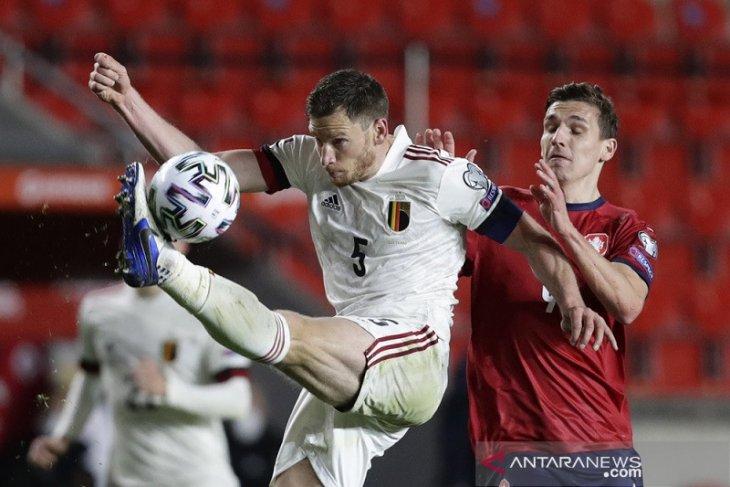 Kualifikasi Piala Dunia, Belgia ditahan imbang Ceko