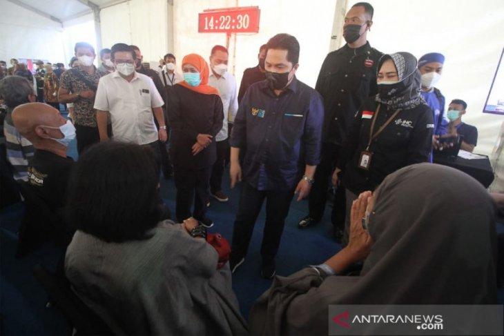 Menteri BUMN : Bom bunuh diri di Makassar bisa ganggu vaksinasi