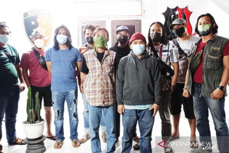 Satreskrim Polres Pangkalpinang amankan dua pelaku vandalisme