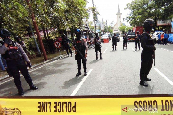 Pascabom bunuh diri, polisi perketat pengamanan objek vital