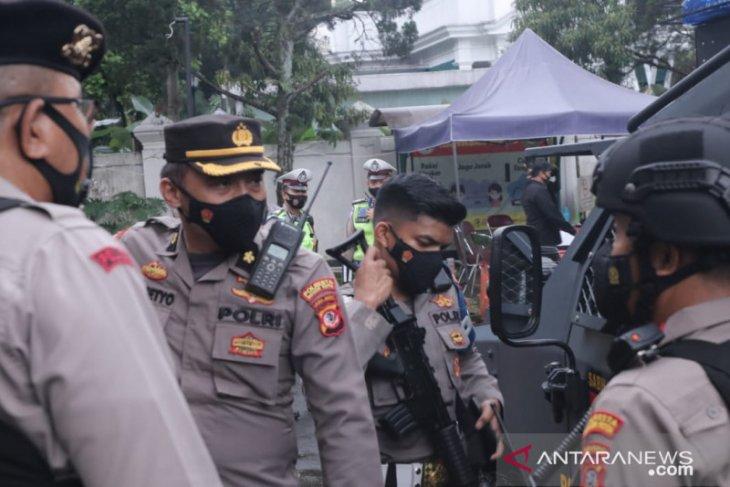 Polresta Bogor Kota tingkatkan pengamanan sejumlah gereja di Kota Bogor