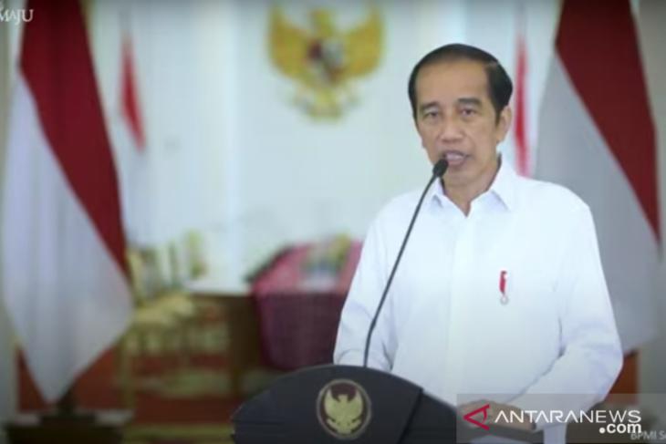 Presiden Jokowi ajak masyarakat perangi terorisme dan radikalisme