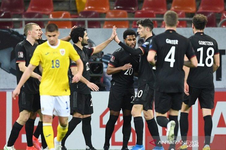 Gol semata wayang Serge Gnabry  menangkan Jerman di Rumania