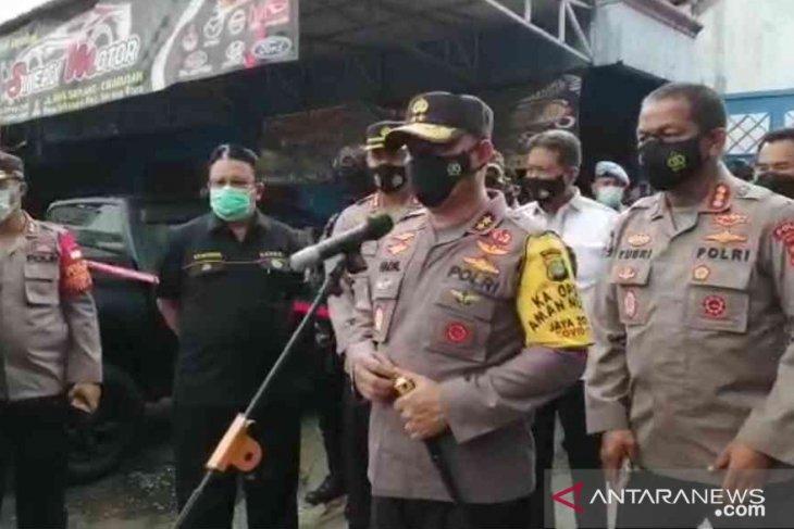 Satu terduga teroris ditangkap Densus 88 di Kabupaten Bekasi (video)