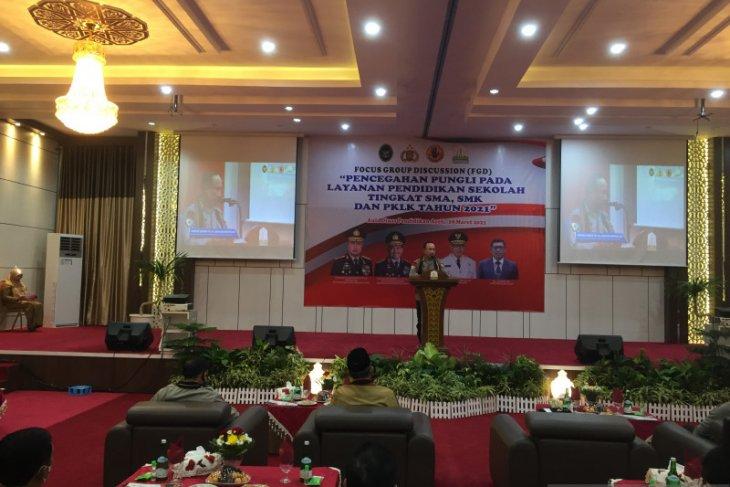 Hadir di Disdik Aceh, ini pesan Ketua Satgas Saber Pungli Pusat