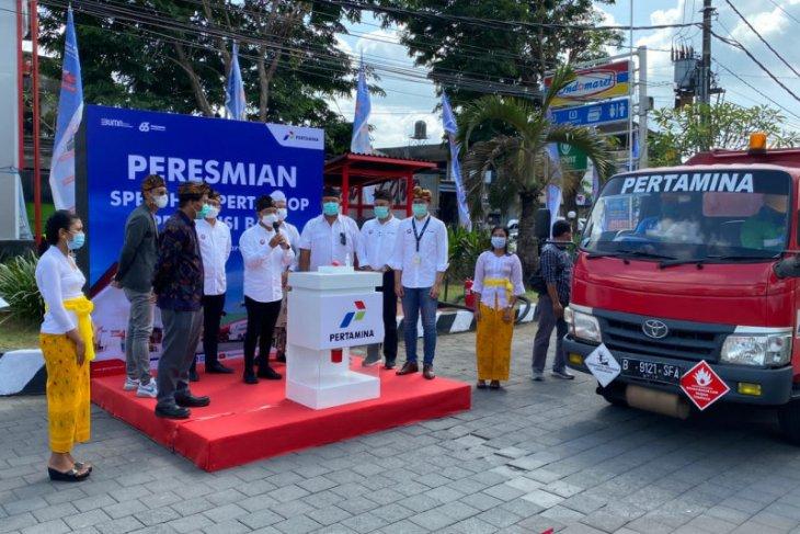 Pertamina resmikan SPBU Hub Pertashop di Badung