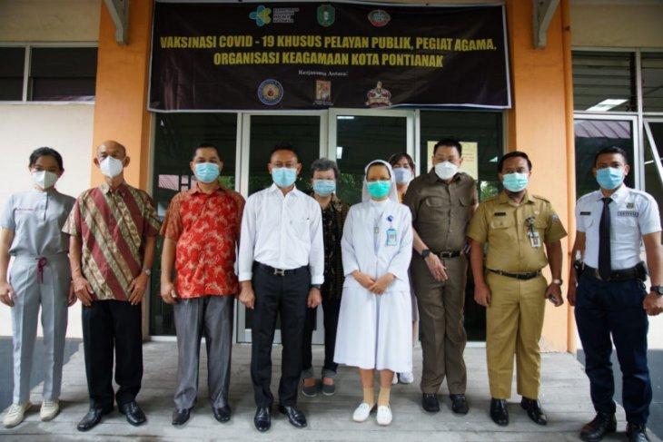 Peran serta swasta percepat cakupan vaksinasi di Pontianak