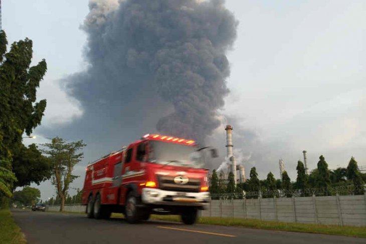 Lima orang luka berat akibat kebakaran kilang minyak