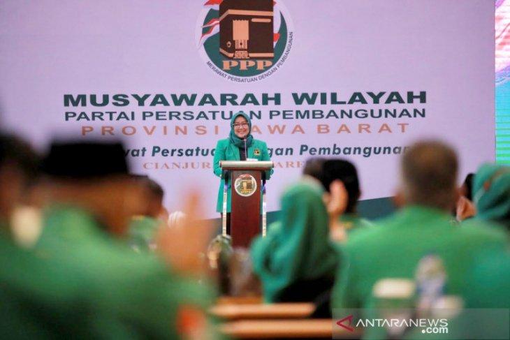 Ade Yasin kembali terpilih menjadi Ketua DPW PPP Jabar secara aklamasi