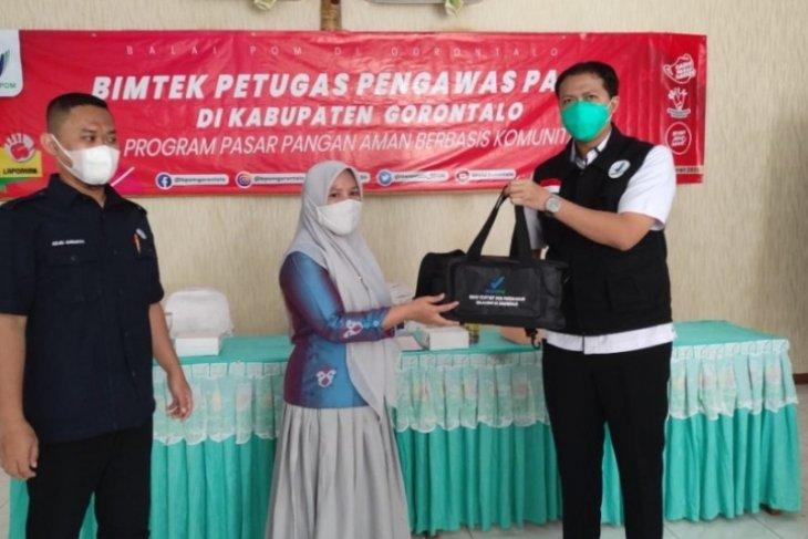 BPOM Gorontalo latih petugas pasar uji bahan berbahaya pada makanan
