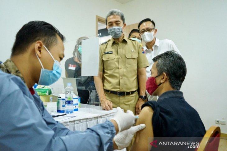 Pemkot Bogor melanjutkan vaksinasi kepada 1.500 orang di Mal Ekalokasari