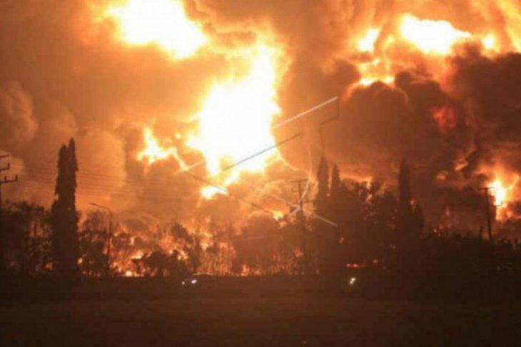 Nenek 100 tahun jadi korban kebakaran kilang minyak
