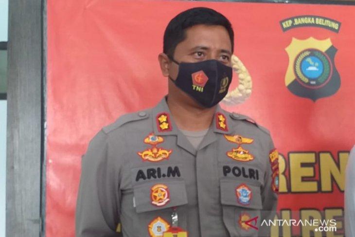 Polres Belitung amankan pelaku aksi premanisme di warung pecel lele