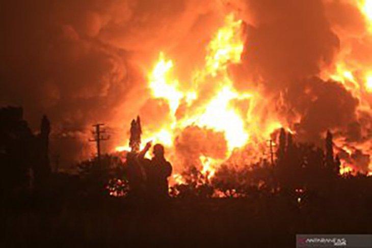 Profil kilang Balongan yang terbakar
