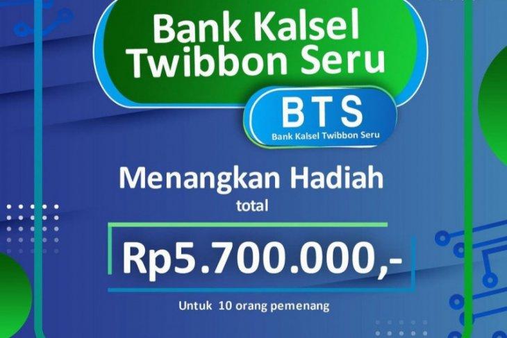 Meriahkan HUT ke-57 Bank Kalsel selenggarakan Twibbon Seru