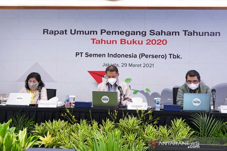 Semen Indonesia bagikan dividen Rp1,12 triliun