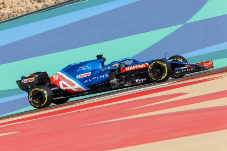 Bungkus sandwich penyebab Fernando Alonso gagal finis di Bahrain