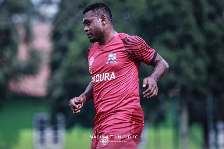 Piala Menpora: David Laly siap perkuat Madura United lawan Persela