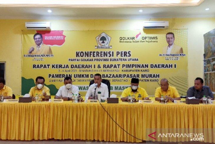 Golkar Sumut susun strategi pemenangan Pemilu 2024