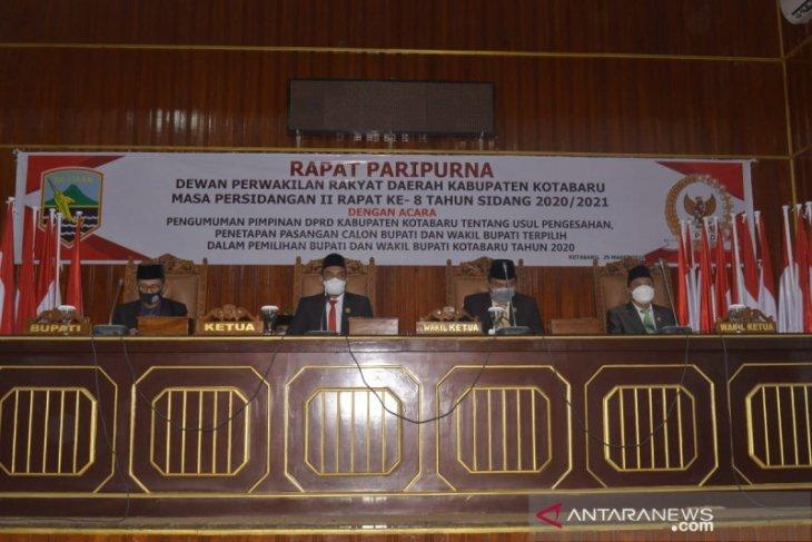 DPRD tetapkan pasangan SJA-Arul pemenang Pilkada 2020