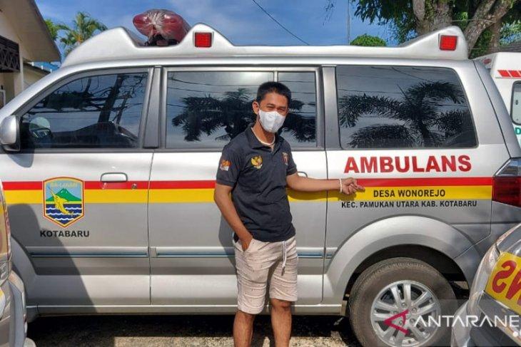 Ambulan dari dana pokran untuk tiga desa