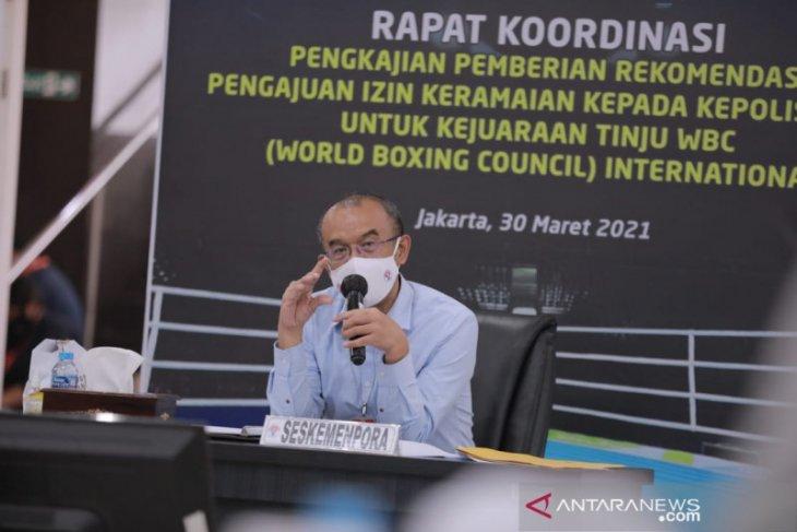 Kemenpora targetkan vaksinasi atlet PON Papua tuntas Juli 2021