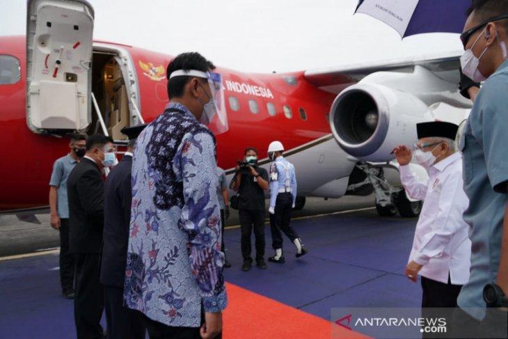 Wapres kunjungan ke Kalteng untuk resmikan Bandara HM Sidik