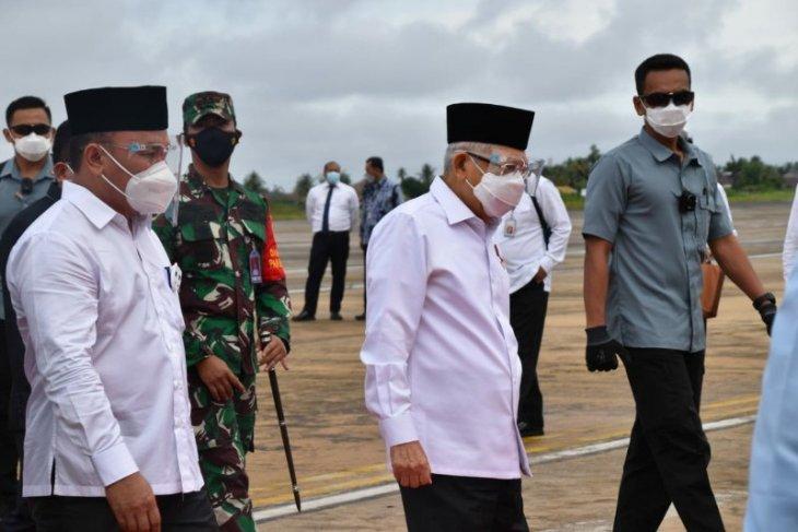 Wapres Ma'ruf harap Bandara HM Sidik beri kontribusi positif bagi pembangunan