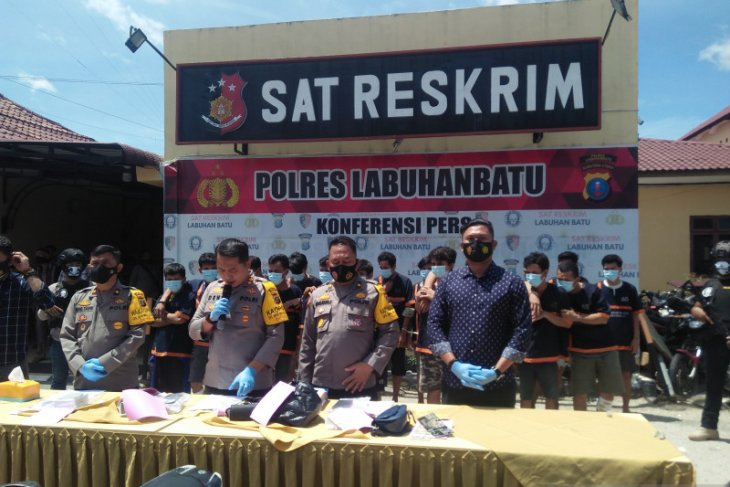 Operasi Sikat Toba, Polres Labuhanbatu ringkus 130 pelaku kejahatan konvensional