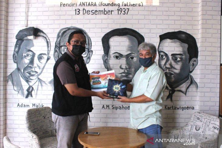 ACT Kalsel kunjungi kantor ANTARA Banjarmasin