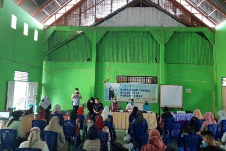 BPOM Gorontalo bentuk kader pangan aman di sejumlah desa