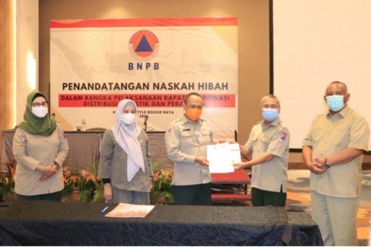 Pemprov Gorontalo terima bantuan peralatan penanganan bencana dari BNPB