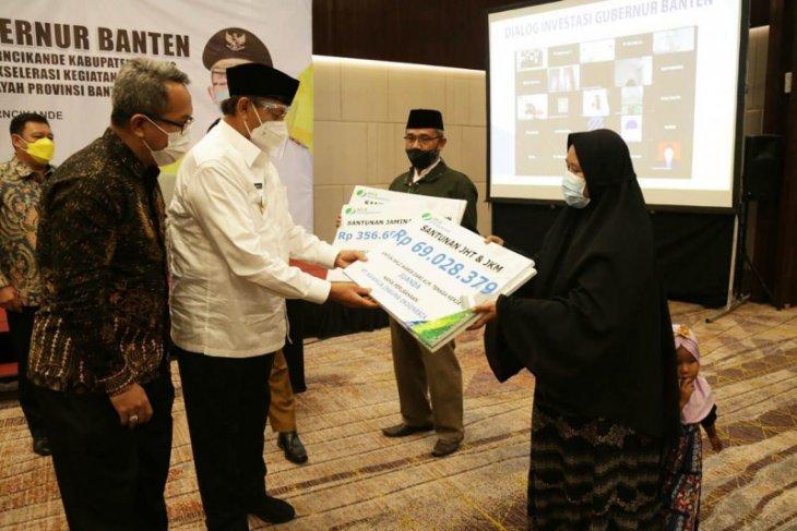 Gubernur Banten mengapresiasi program BPJAMSOSTEK yang sangat melindungi pekerja