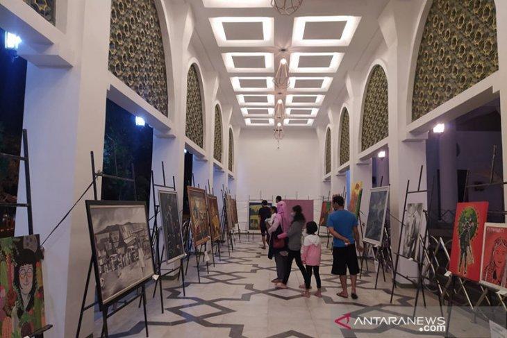 DKKB gelar pameran seni rupa di Masjid At-Taqwa Bengkulu