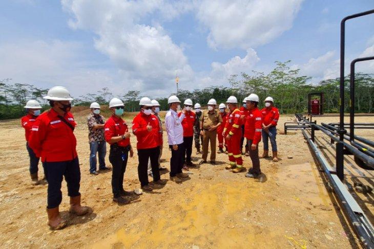 SKK Migas- SRMD launching produksi pertama lapangan minyak Belato