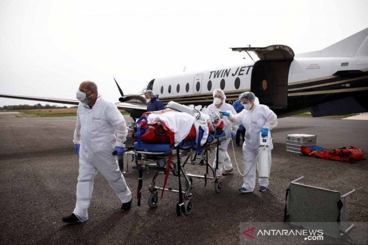 Prancis laporkan kenaikan  pasien ICU COVID-19