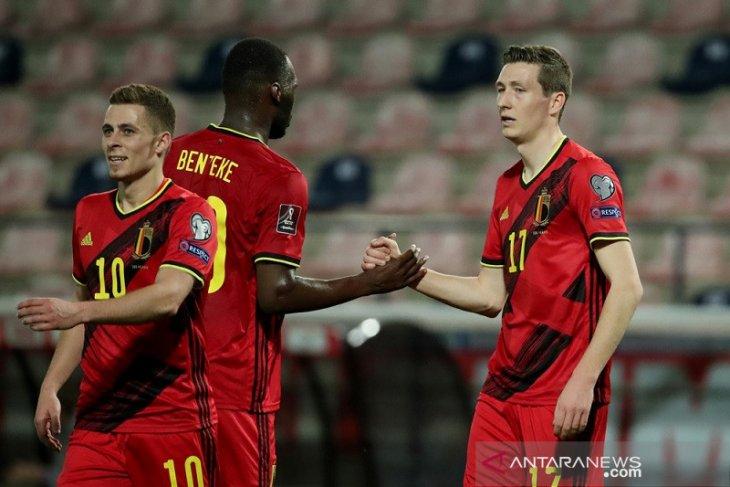 Kualifikasi Piala Dunia:  Belgia babat habis Belarusia, Wales petik kemenangan perdana