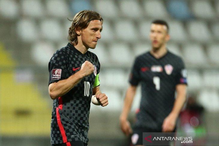 Kualifikasi Piala Dunia: Kroasia rebut posisi puncak Grup H seusai bekuk Malta